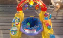 Picture #1- Fisher Price Intellitainer, works great , baby can move forward and backward $40 o.b.o   Picture #2 - Fisher Price Vibrating seat, can rock it or make it stand still - $10