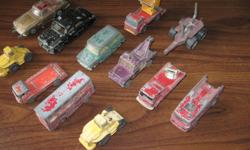 ....Especially for the Collector!....All 12 are Corgi Dinky Toys!...[Stamped]....All very old!....Asking $65.00