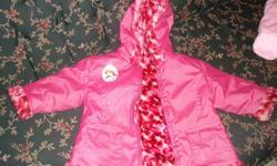 Princess coat... gentle used pink in color