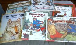 Set of 6 Jan Brett books