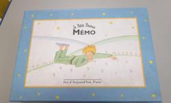 Jeu de mémoire Le Petit Prince $5.00 Cherche et Trouve $5.00 Jeu de repère Dora $5.00 Petits casse-tête en bois encore emballés $2.00 pour les trois
