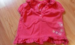 Joe Fresh brand 100% cotton summer pieces size 3-6 months   short sleeve tops, shorts, one-piece belted jumper     from a smoke-free home Asking $2.00 each   I have tons of little girl clothing from 0-3 month to 6-9 month, all in great shape, many items