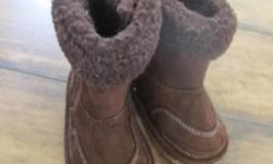 -'JOE' Boots. sz.6 - $4.00 (Never worn!!) Velcoro on side for easy on & off. SO Cute!     If AD IS UP THEY ARE AVAILABLE! THANK YOU! :)