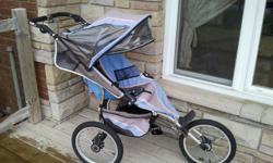 Dreamer design jogging stroller all works and great on trails