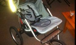 Jogging stroller in great shape. Infinity model. Asking $60 obo. This ad was posted with the Kijiji Classifieds app.