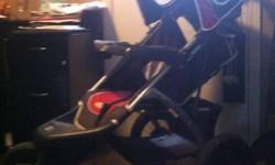 I have a jogging stroller for sale. Asking $50. Nothing wrong with it, we just don't need it any more. This ad was posted with the Kijiji Classifieds app.