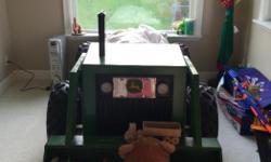 Custome made John Deere tractor bed