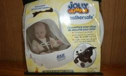 brand new jolly jumper car seat net & protection cover... great to keep baby safe from mosquito's.  Original price was $15 plus tax and selling for $10.... call 9223995 if you want to buy it.  No emails please.
