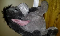 Like new and with orginal tags. This Jumbo Eeyore has sat on a bedroom shelf for a couple of years. Bought at Disney in Florida and paid $109US. Eeyore has never been played with and is in perfect condition. Please call before Tuesday as I am leaving the