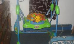 I HAVE A JUMPEROO I DON'T HAVE ROOM TO STORE IT SO ASKING $50.00 OR BEST OFFER  IN EXCELLENT CONDITION COMES WITH BATTERIES AND MAKES NOISE ECT....