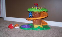 Jungle toy, with slide and music