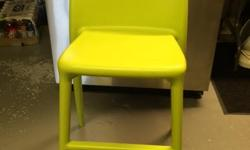 Junior chair, measures 21 inches from floor to seat top. Durable, easy to clean, in very good condition. Purchased at Ikea. Smoke, pet free home. Pick up off Merivale rd.