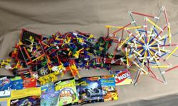 Large collection of K'nex building pieces (Email or text)