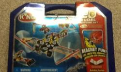 This is perfect for kids age 6-12 who love to build things. I got it for my birthday 5 years ago and I don't have a use for it now. It is in great condition since I never really used it. All the the pieces are there except for 4 of the orange triangle