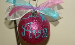 Moms and Dads check out our Facebook Group at https://www.facebook.com/groups/224466997607099/ We have a wide variety of personalized shatterproof ornaments that are very glass like, but unbreakable. Baby's First Christmas is one of our most popular bulb