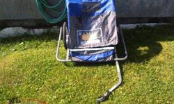 kids bike trailer for sale need gone only used a couple times
