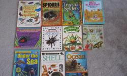Children's' Guide to insects and spiders - SOLD Spiders and other creepy crawlies - $2 Insects and Spiders - SOLD Where do ants live? - $2 Do all spiders spin webs - $2 Amazing Spiders - $2 Mysteries & Marvels of insect life - $2 Have you seen bugs? -