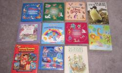 Disney Storybook Collection (320 pages) - $8 Disney Animal Stories (316 pages) - $8 Disney Classic Storybook (320 pages) - $8 Wildlife Encyclopedia (1970) - $4 Treasure of Stories - Beatrix Potter - $8 Care Bears Storybook Treasury (184 pages) - $8 Disney