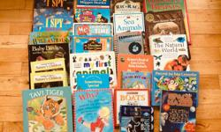 varity of kids books 26 in all,, take all for $15.00