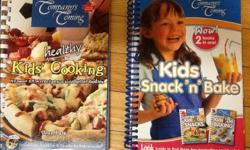 It is actually 3 books as one is a two in one. The two in one is originally priced at $19.99 . Asking $10 for both books Titles are kids Do Snacks Kids Do Baking and Kids Healthy cooking