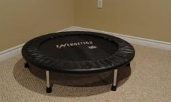 40 inch kids fun Trampoline. Great indoor or outdoor energy burner. Used as adult workout/exerciser too. Burns more calories, easier on the knees. Excellent condition. Good idea for Christmas fun. Will Deliver to Deep/Chalk River, Petawawa, Pembroke.