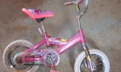 "Girls 12"" bike, daughter outgrew this year. Training wheels not included. Always kept inside only $25 Located in Egmont Bay."