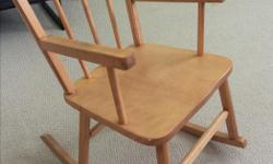Pine rocking chair, great condition