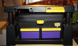 Kids Cool Tools, tool box little bench, bunch of little tools inside!