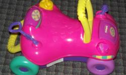 Great toys and in great shape, my kids have out grown them. Asking $20 for all 3. From clean smoke free home.
