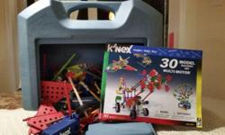 Kinex 30 Multi Motor Model Building Set 341 pieces With Carry Case $20.00 OBO