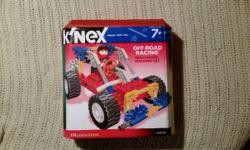 Kinex Off Road Racing Building Set 174 Pieces $12.00 OBO