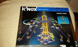 Kinex Swing Ride Building Set...Never Used, Never Opened 853 pieces with motor Stands 3 ft tall x 1 metre wide when constructed $30.00 OBO
