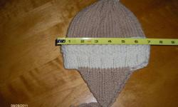 Home knit hats for children