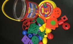 For the toddler learning fine motor skills. Hours of fun!