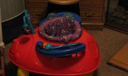 In Good shape kids had lots of fun in it. asking $20.00 or best offer. If not for your home then an extra one for grandma's house of maybe your baby sitter. FROM A NON SMOKING HOUSE.