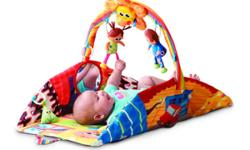 EXCELLENT CONDITION RATED FROM BIRTH- UP HAS ALL ORIGIANL TOYS GOES FROM PLAYMAT TO TUMMY TIME TO DOLL HOUSE SMOKE FREE HOME RETAILS FOR $80