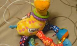 Stretch the Giraffe Crinkle the elephant.....great for teething, texture and sound $3 Highchair suction cup toy $5
