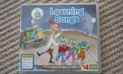 Leap Frog - Learning Songs CD Songs from the Letter Factory and The Talking Words Factory Videos. Teaches Upper & Lower case letters, Letter Sounds, Vowels, and Word Building 10 Songs: Mr. Websley is Coming Around Every Letter Makes a Sound-Letter Factory