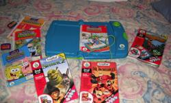 Leap Pad and extra books and cartridges. All for $20. In excellent condition.