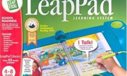 Leap Pad Learning System with backpack and 9 books!!!! Please call:403-580-3689