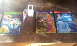 """Leap Frog """"Tag"""" pen, stand and 3 books All in good condition Pick up only"""