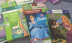 Tangled-open but never read Cinderella- never opened Read and write system. Hardly used