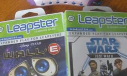 My son wishes to sell his leapster 2 console and 3 games (star wars- wall-e and tinkerbell) for 15 dollars.
