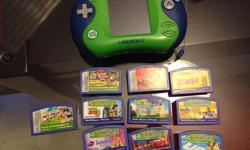 Leaders with case and 10 games. All in excellent condition. Asking $100