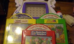 Learn Through Music Interactive music game Perfect condition 3 cassettes included Kids love to sing along **From a smoke free home** Phone 457-0075 or email ask for Trish