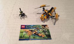 Chima lego set. Part of enormous lego collection. Will be posting lots of ads over time as selling everything and open to offers on multiple purchases.