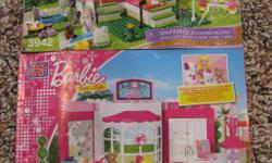 Includes 2 sets of girls lego - Lego friends Pet Shop & Barbie Pet Shop. All pieces are there.