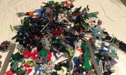 Lego Bionicles - complete large bin for $180 for all sets. Tons of manuals includes - see attached photos. Part of enormous lego collection. Will be posting lots of ads over time as selling everything and open to offers on multiple purchases.