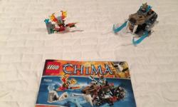 Chima Legends lego set. Part of enormous lego collection. Will be posting lots of ads over time as selling everything and open to offers on multiple purchases.