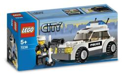 Lego CITY set in perfect condition! It comes with the box, and the instructions! We have double checked and the pieces are all there! This is quite the bargain for this now rare set, but I need to get rid of it since I no longer play with it. The police